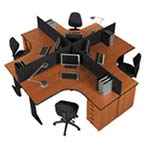 Euro 4 way Workstation A